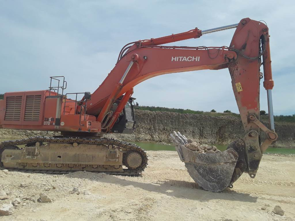 Hitachi ZX 870 LC R-3, Crawler Excavators, Construction Equipment