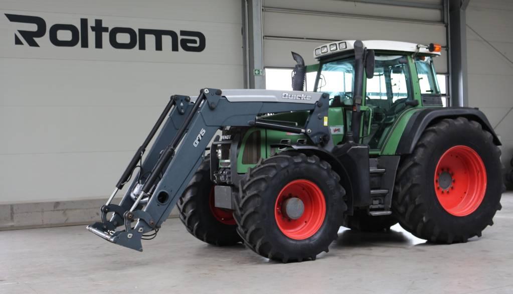 Fendt 820 Vario TMS, Traktory, Maszyny rolnicze