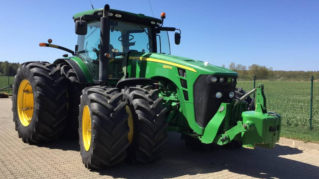 John Deere 8345 R, Traktori, Lauksaimniecība