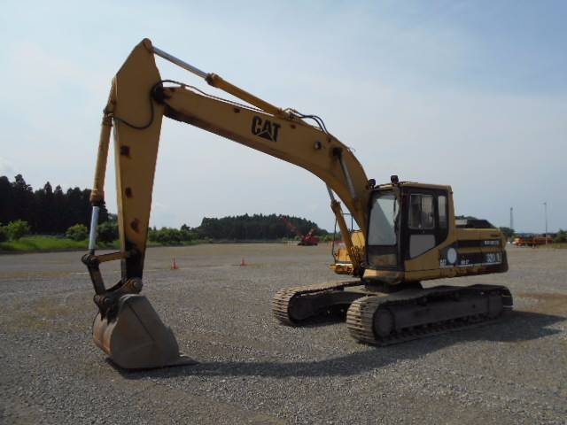 Caterpillar 320L, Crawler excavators, Construction