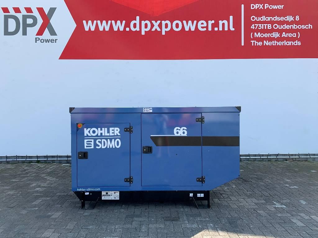 Sdmo J66 - 66 kVA Generator - DPX-17103, Diesel generatoren, Bouw