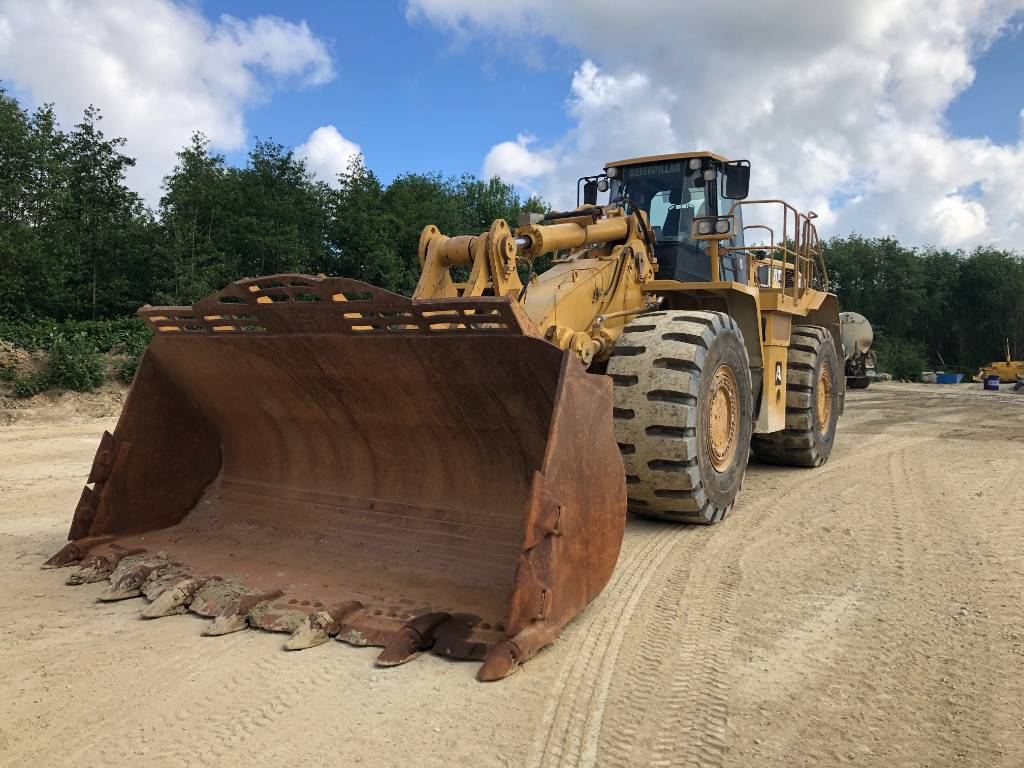 Caterpillar 988 G, Wheel loaders, Construction