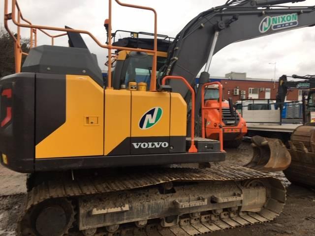 Volvo EC140 EL, Crawler excavators, Construction