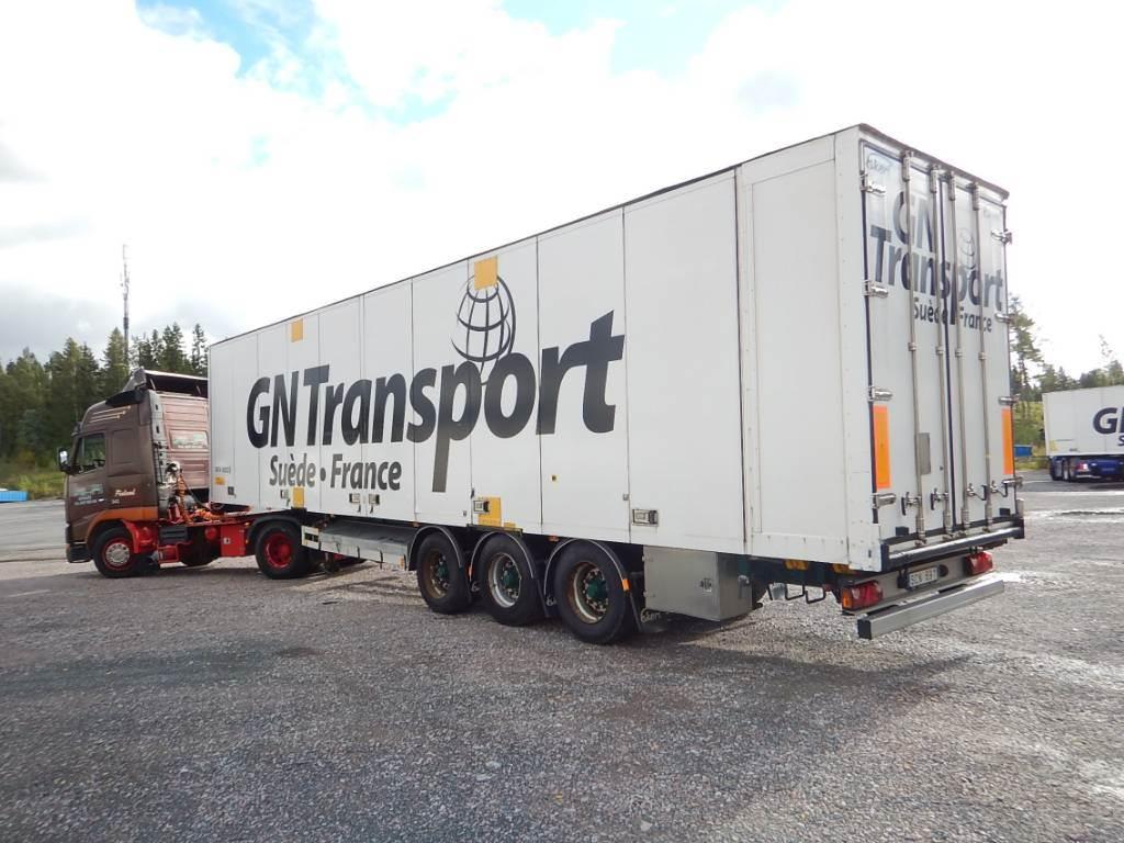 Ekeri KapellikattoPPV. 2,8m Sisäk. DJU-187, Box body semi-trailers, Transportation