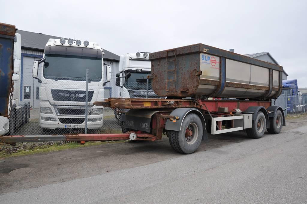 SLP 3-8200-KS, Växelflak-/Containersläp, Transportfordon