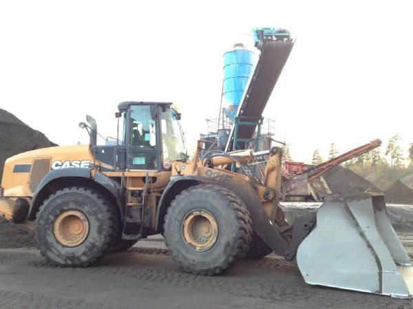Case 921 E, Wheel loaders, Construction