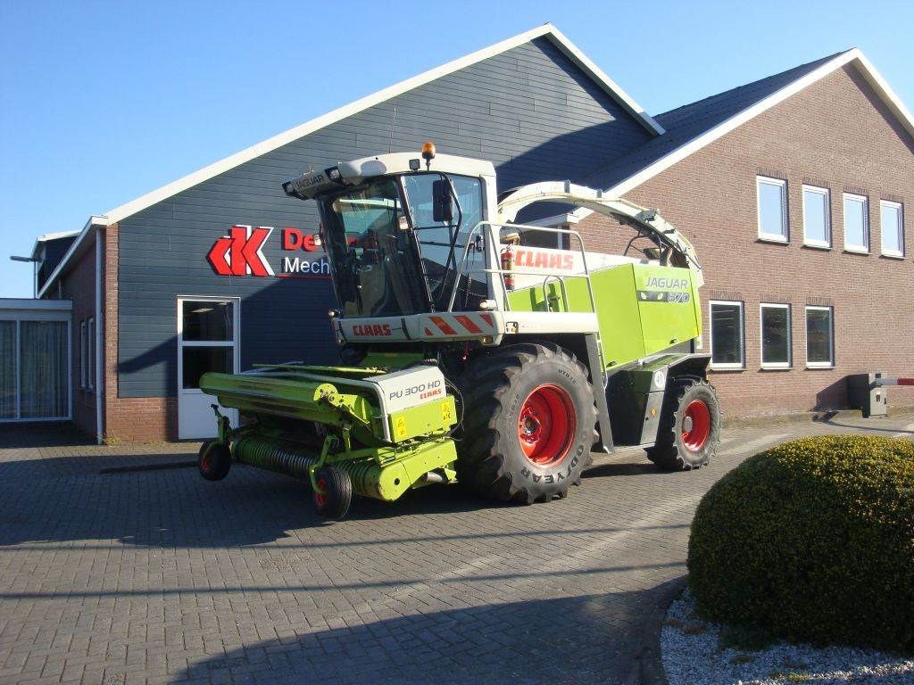 CLAAS jaquar 870, Forage harvesters, Agriculture