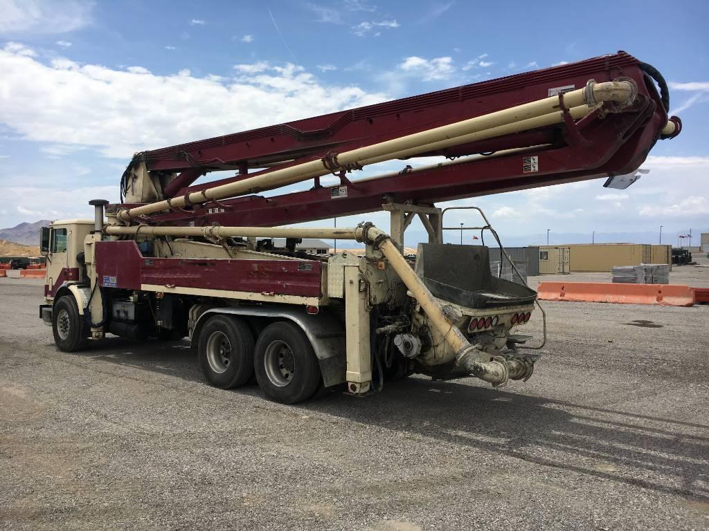 Pumpstar 39M, Boom Pumps, Construction Equipment