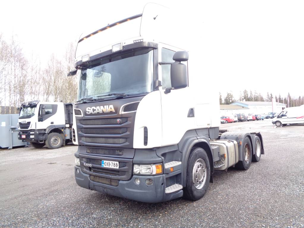 Scania R500 6x2, Vetopöytäautot, Kuljetuskalusto