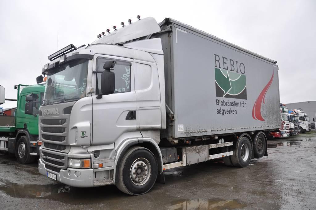 Scania R480 6X2, Flisbilar, Transportfordon