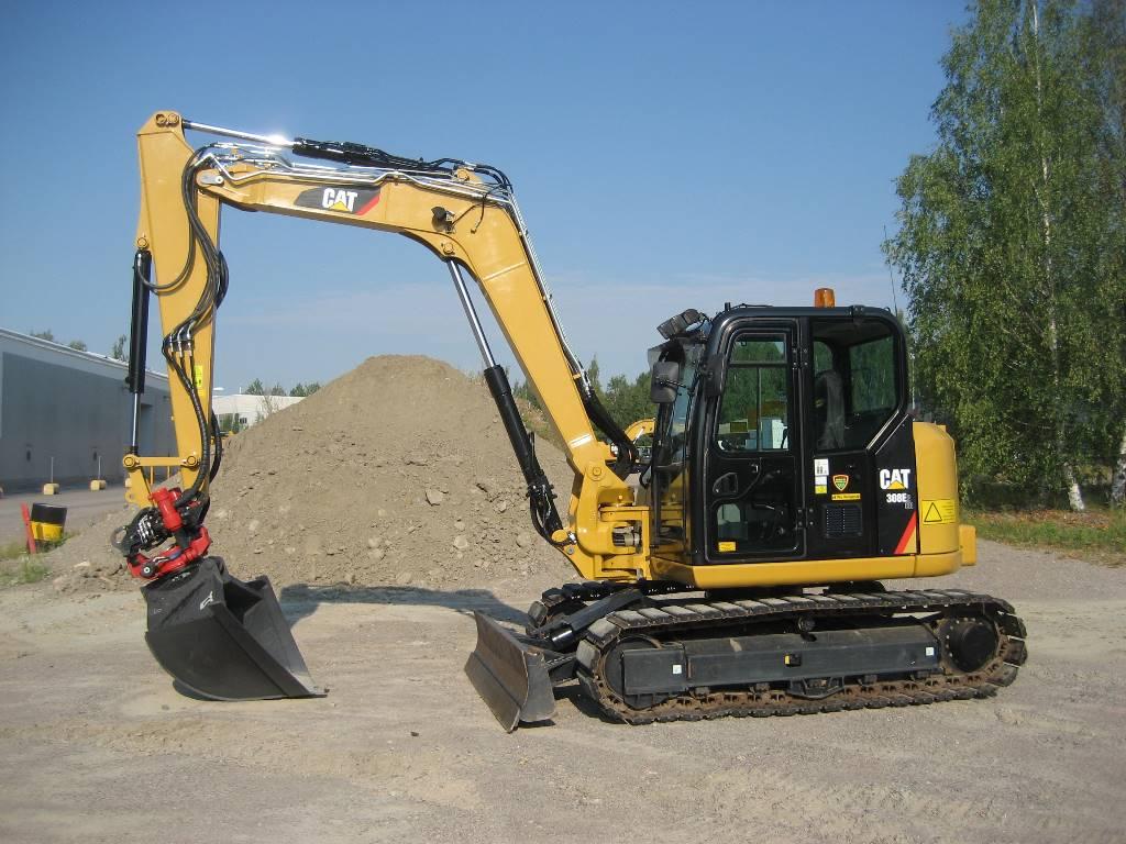 Caterpillar 308E2, Mini excavators < 7t (Mini diggers), Construction