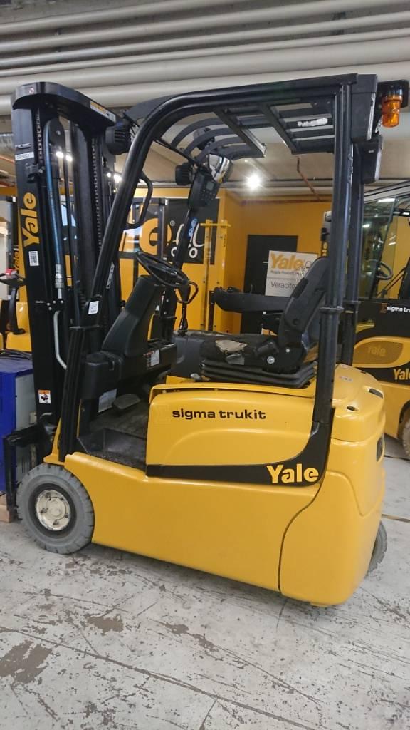 Yale ERP15VT, Sähkötrukit, Materiaalinkäsittely