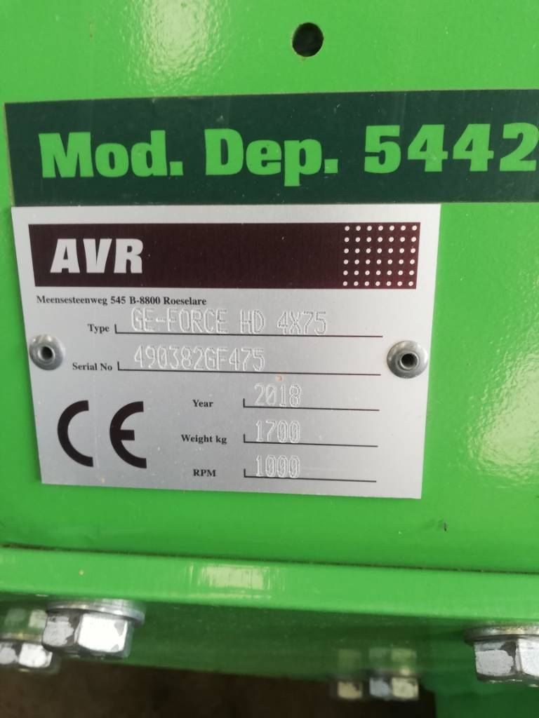 AVR AVR GeForce HD 4 x 75, Hillers, Agriculture