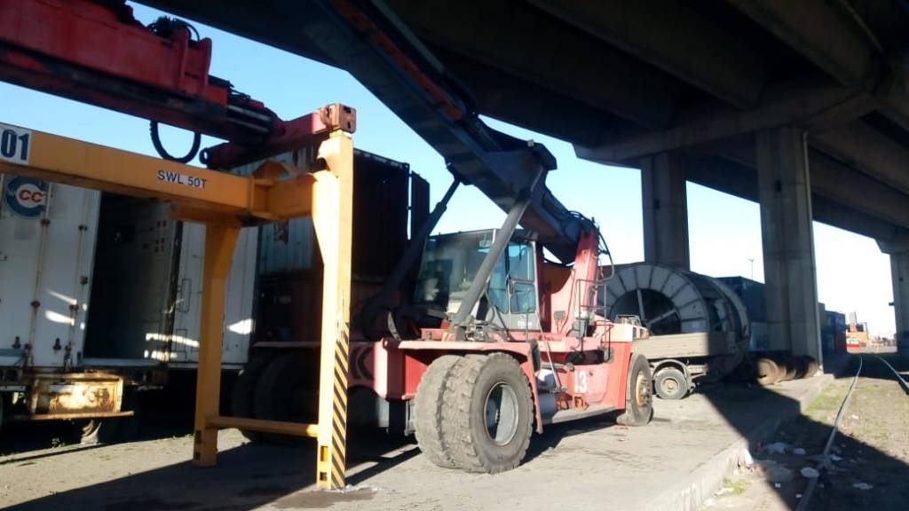 Kalmar DRF100-54S6, Container handlers, Material Handling