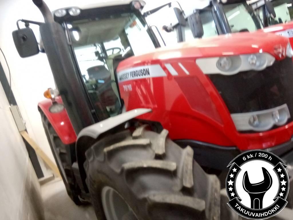 Massey Ferguson 7616, Traktorit, Maatalous