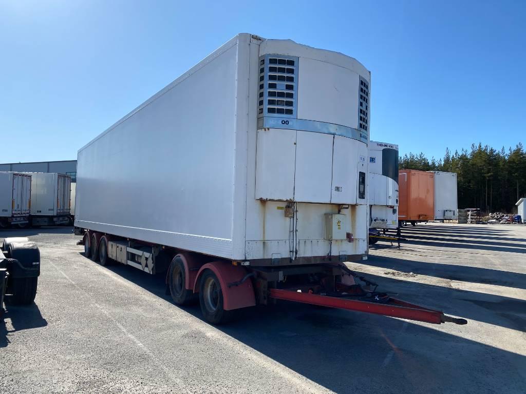 Närko TPV perälauta 5-aks, WHL-663, Box body trailers, Transportation