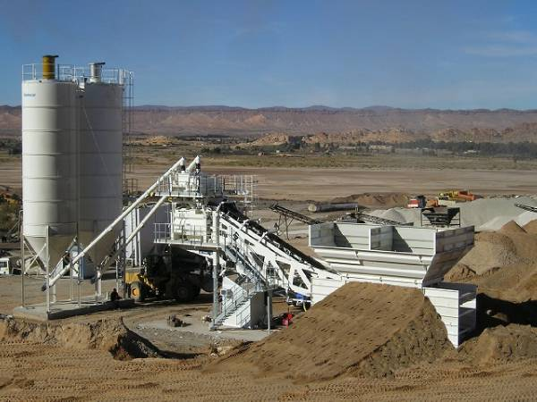 Biggest Concrete Plant In The Usa : Used frumecar eca mobile concrete plant