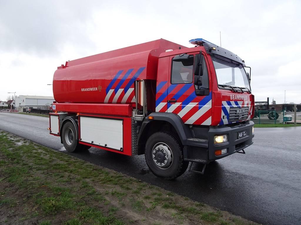 MAN L19 LAC, Brandweerwagens, Transport