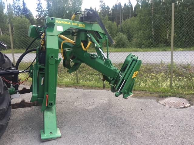 Farma 5-15C, Kvistare, Skogsmaskiner