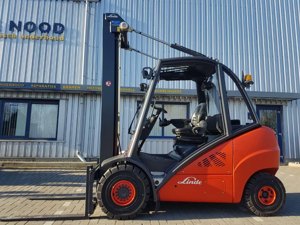 Linde H30D, Diesel heftrucks, Laden en lossen