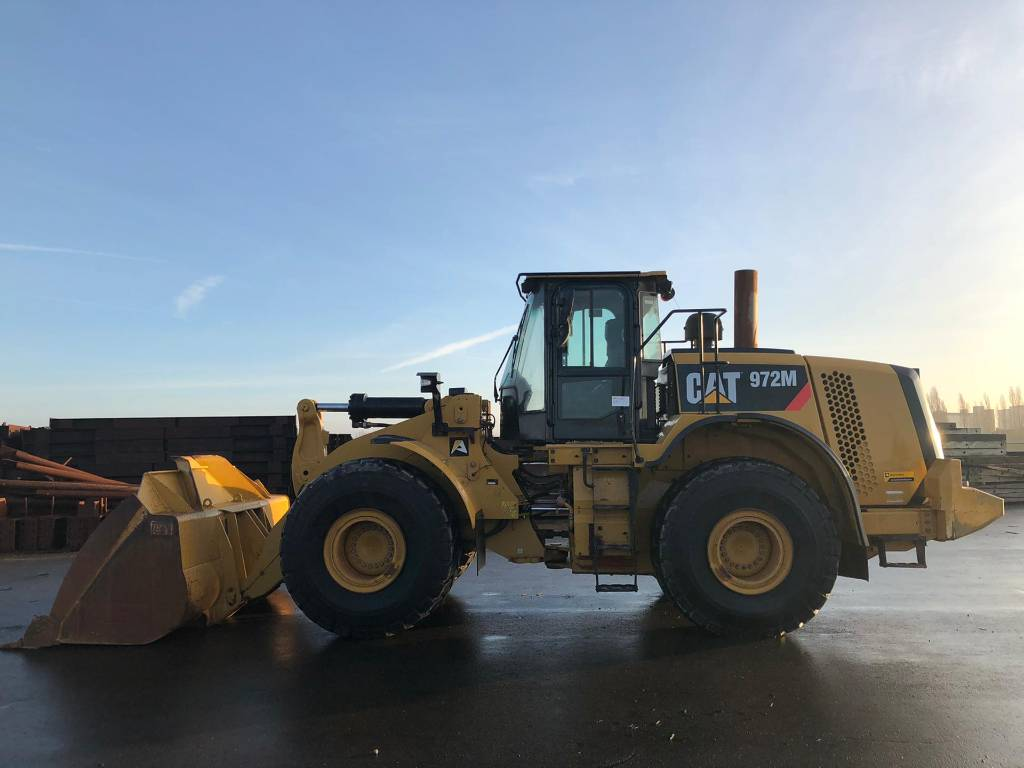 Caterpillar 972 M, Wheel loaders, Construction