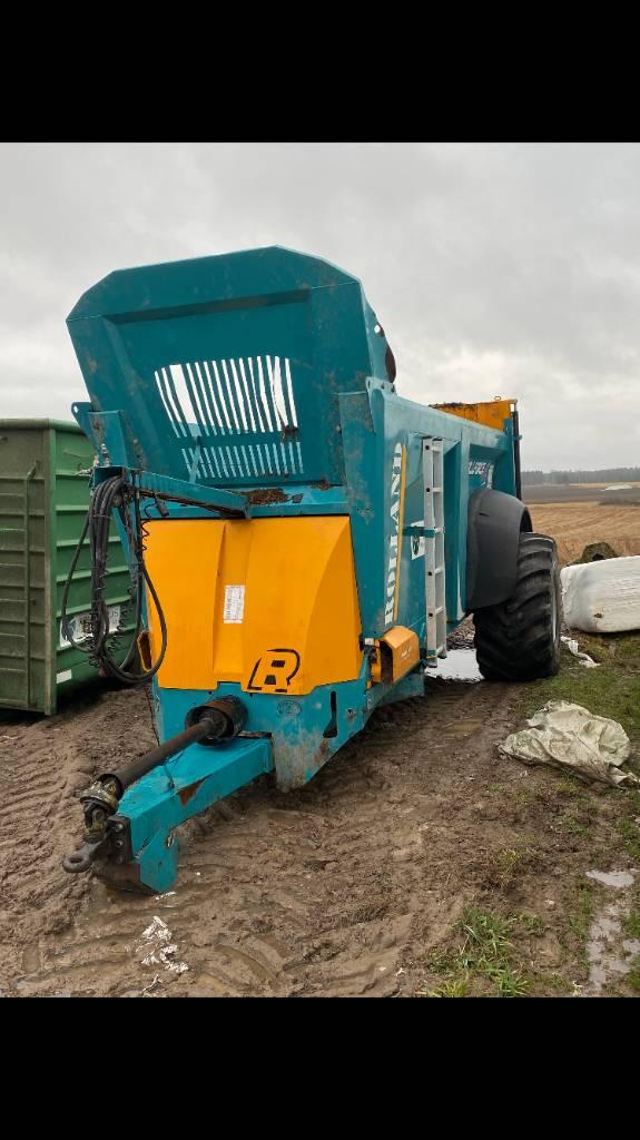 Rolland RF 5517, Fast- och kletgödselspridare, Lantbruk