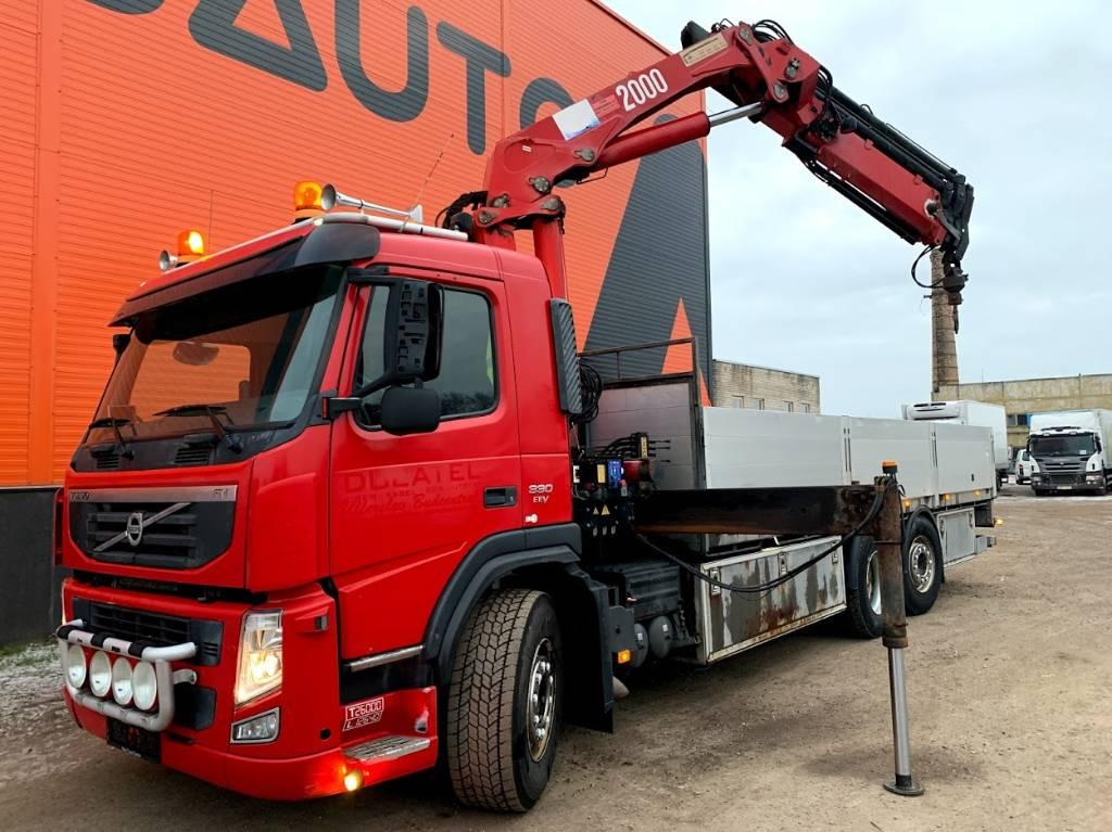 Volvo FM 330 HMF 2000 K3, Boom / Crane / Bucket Trucks, Trucks and Trailers