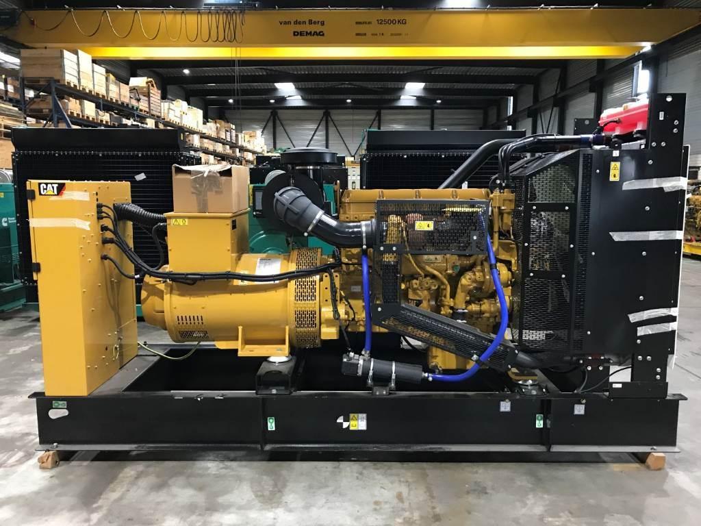Caterpillar C13 - DE450E0-450 kVa - Generator Set, Diesel Generators, Construction