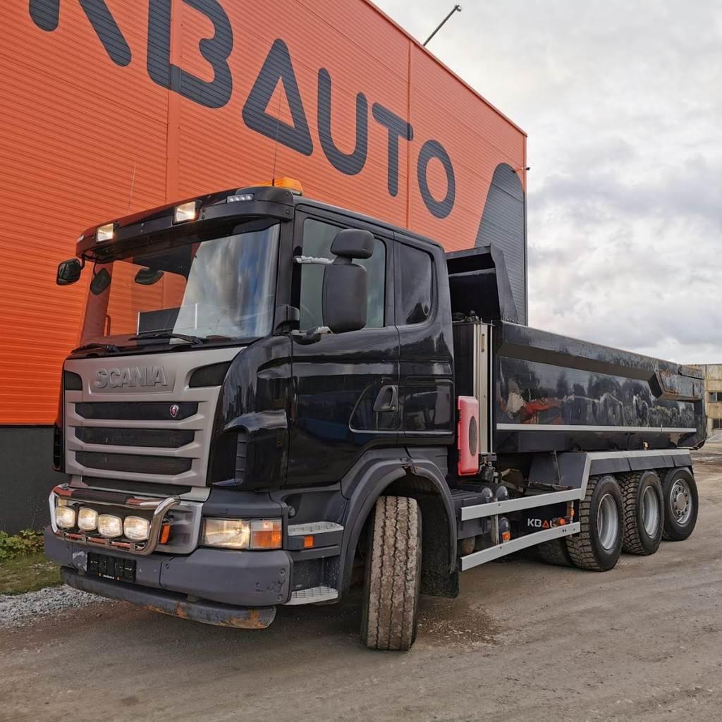 Scania G 480 8x4*4, Dump Trucks, Trucks and Trailers