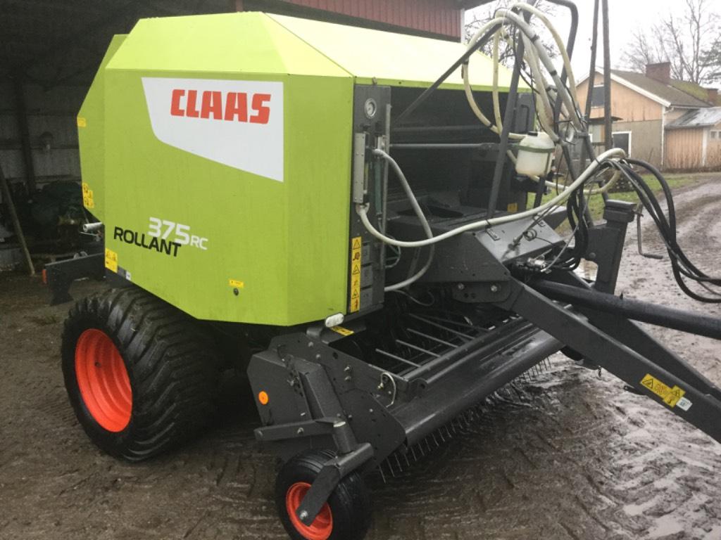 CLAAS Rollant 375 RC, Pyöröpaalaimet, Maatalous