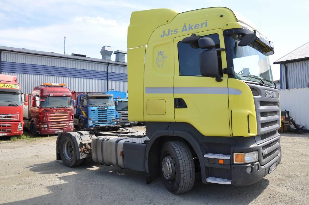 Scania R420 4X2, Dragbilar, Transportfordon