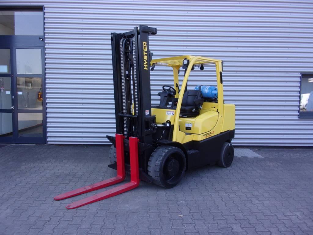 Hyster S7.0FT, Gas Stapler, Flurförderzeuge