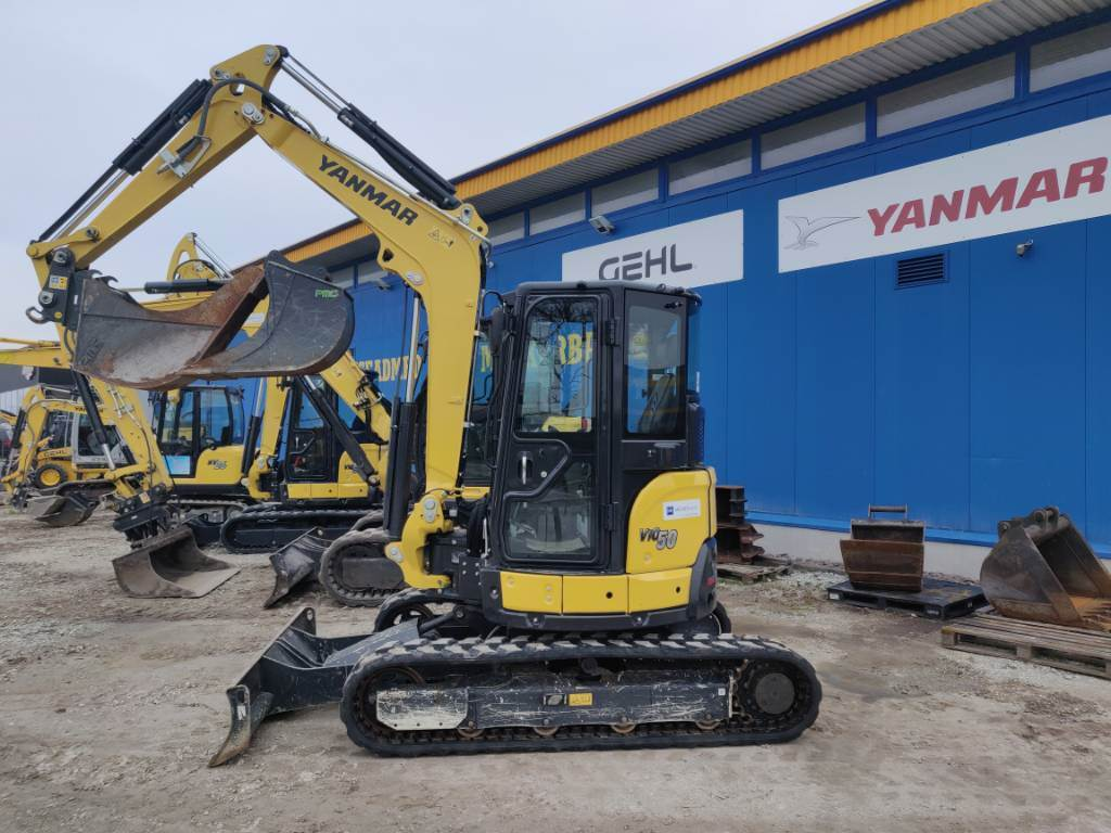 Yanmar VIO50, Mini excavators < 7t (Mini diggers), Construction