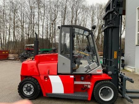 Kalmar DCF80-6, Diesel trucks, Material Handling