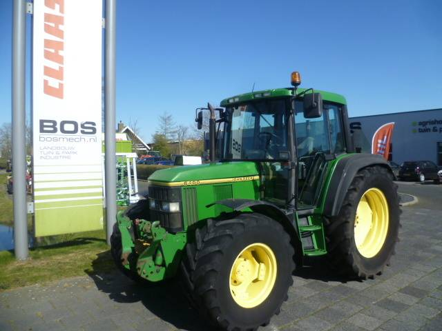 John Deere 6400, Tractors, Agriculture