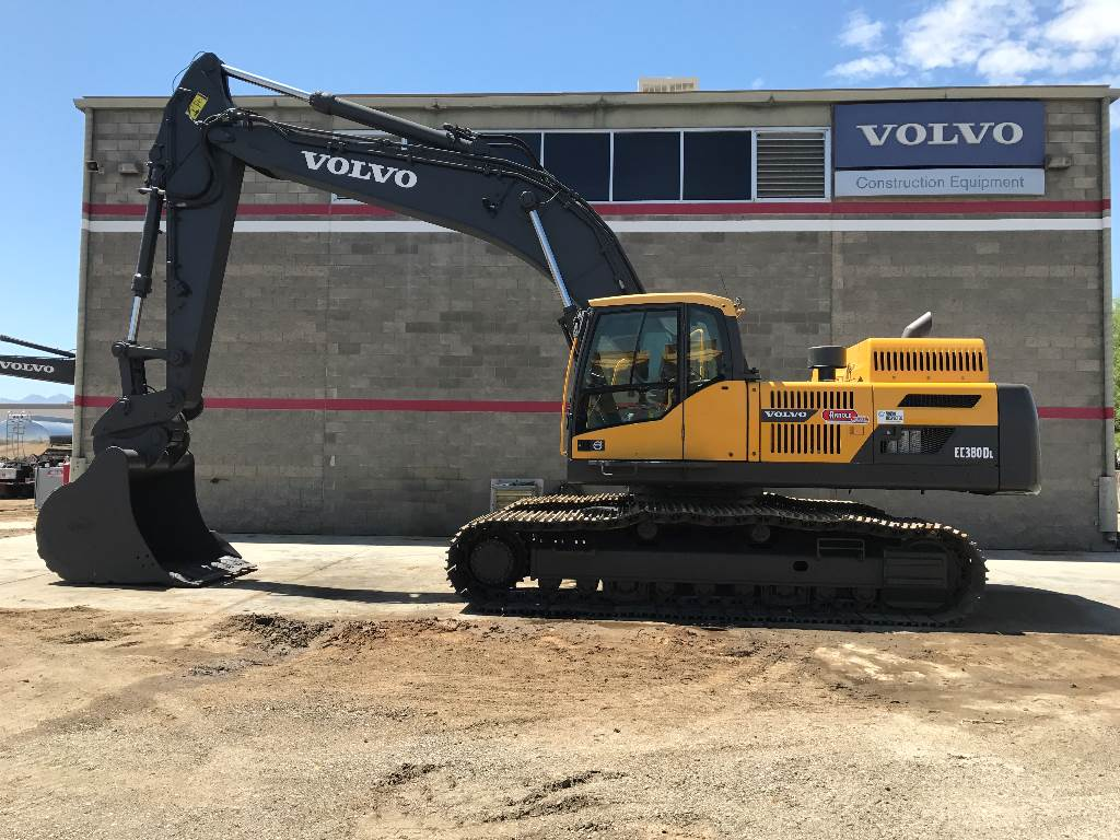 Volvo EC380DL, Crawler Excavators, Construction Equipment