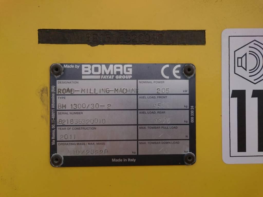 Bomag BM1300/30-2, Asphalt cold milling machines, Construction Equipment