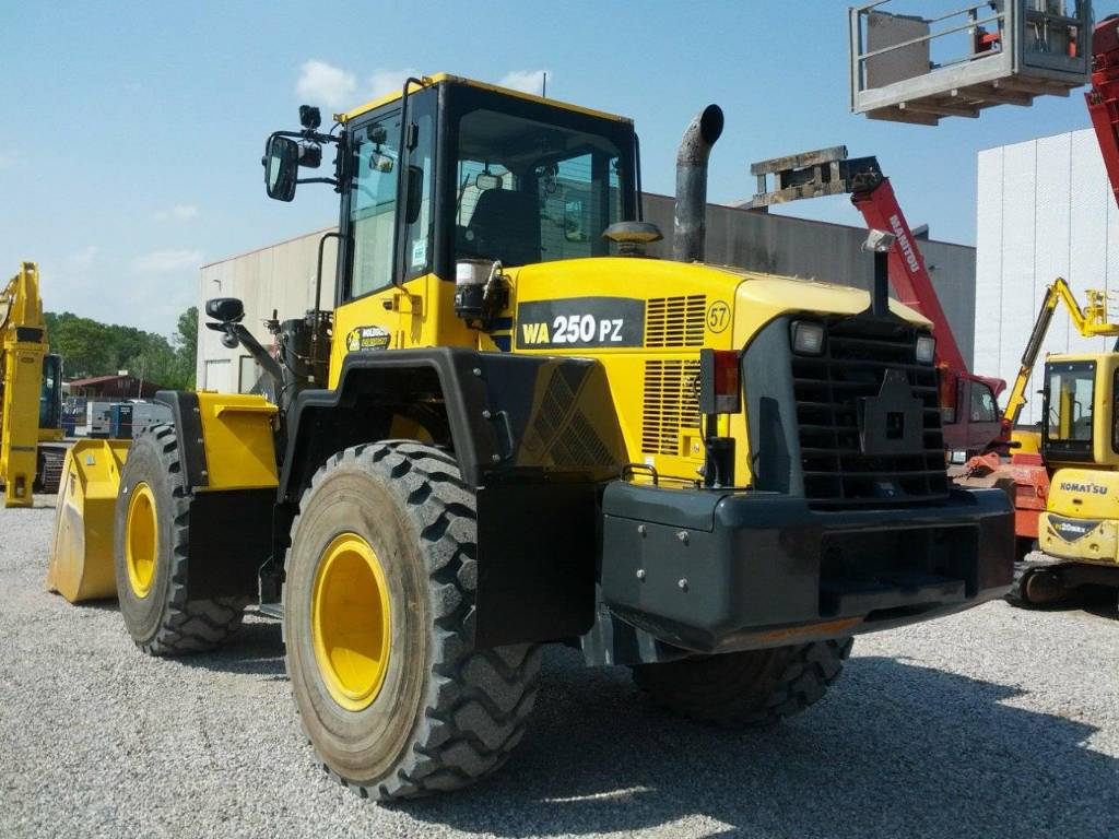 Komatsu WA250PZ-6, Wheel loaders, Construction
