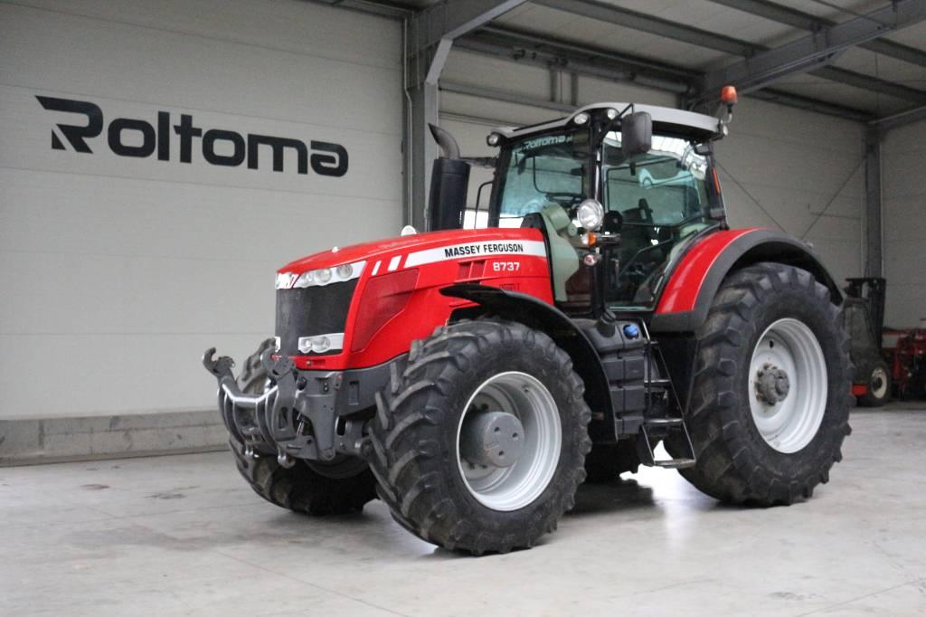 Massey Ferguson 8737 dynaVT, Traktory, Maszyny rolnicze