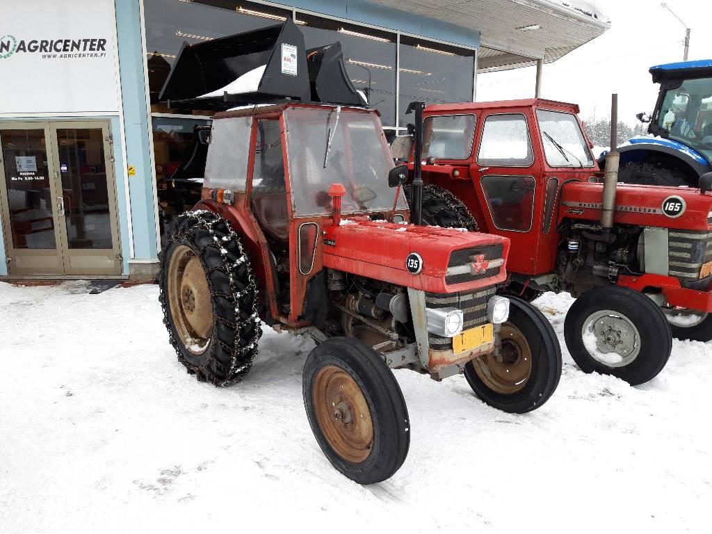 Massey Ferguson 135, Traktorit, Maatalous