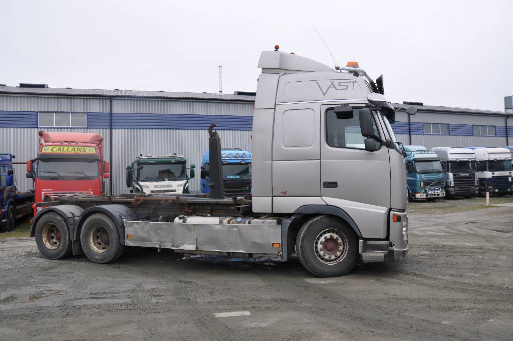 Volvo FH480 6X4, Lastväxlare/Krokbilar, Transportfordon