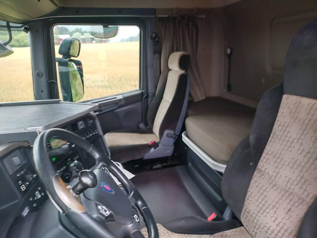 Scania R730 8x4 puuvarustus,euro 5, Puuautot, Kuljetuskalusto