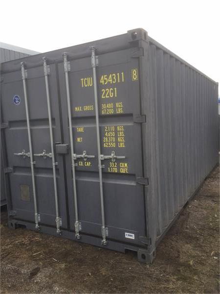 [Other] Container Sjöcontainer Förrådscontainer 20 fot, Förrådscontainers, Transportfordon