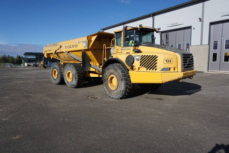 Volvo A40D, Articulated Dump Trucks (ADTs), Construction Equipment