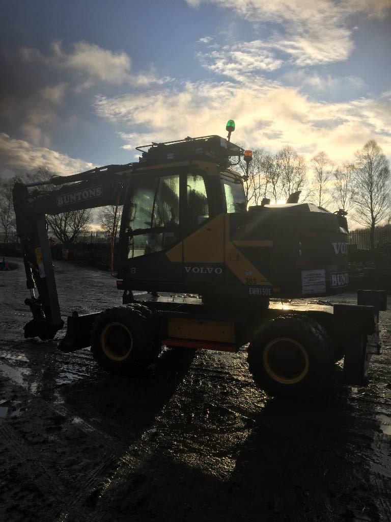 Volvo EWR150E, Crawler excavators, Construction