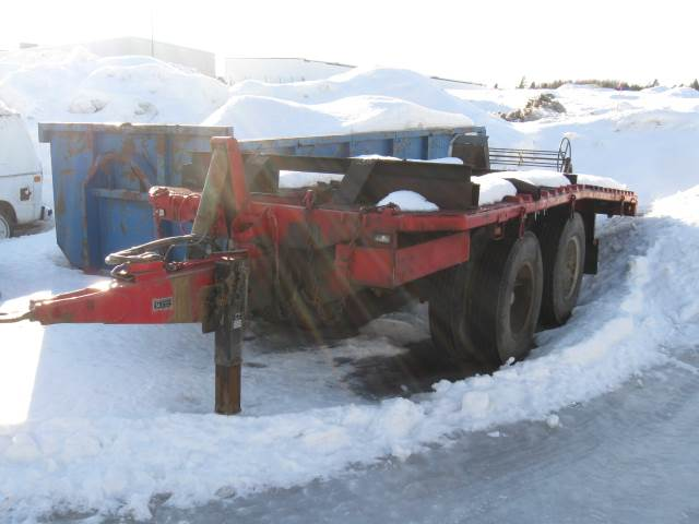 [Other] Kalmarverken TPK 12T, Biltransportsläp, Transportfordon
