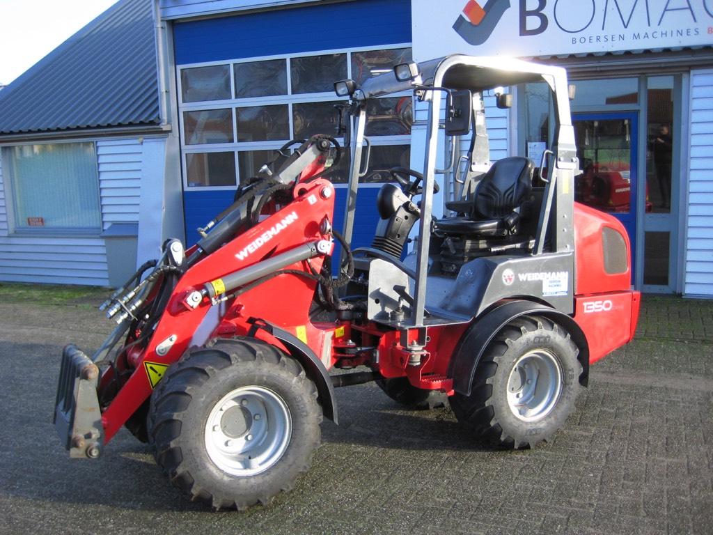 Weidemann 1350 CX45, Wielladers, Bouw