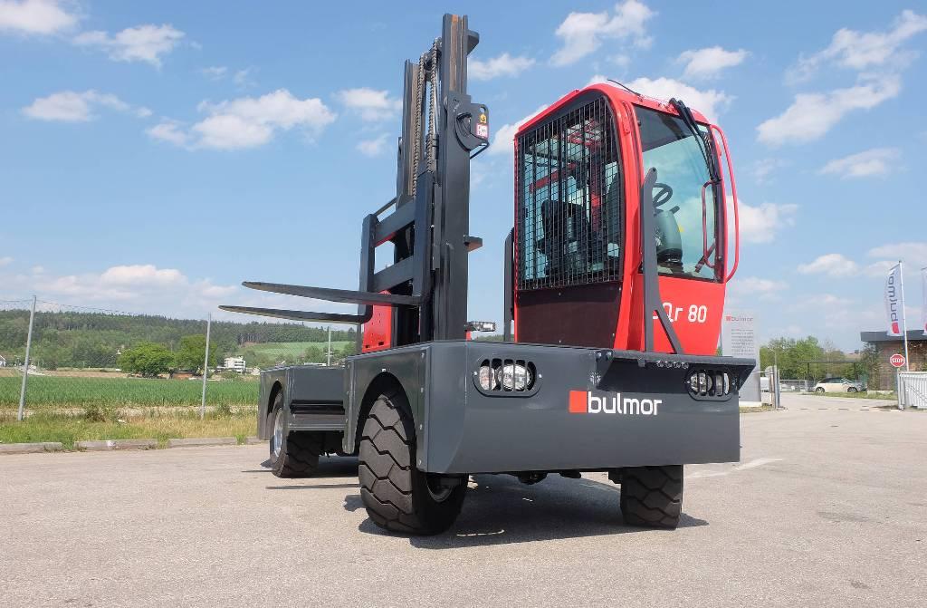 Bulmor DQr80, Övriga, Materialhantering