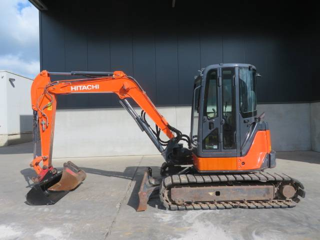 Hitachi ZX 52 U-3, Mini excavators < 7t (Mini diggers), Construction
