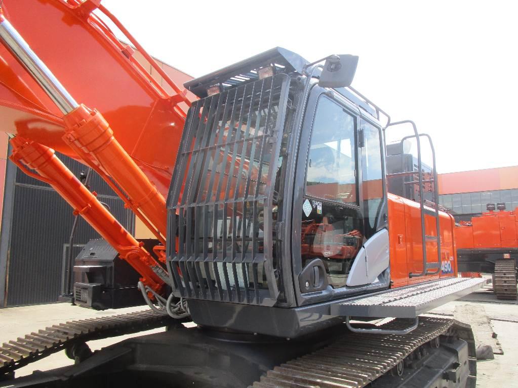 Hitachi ZX 490 LC H-6, Crawler Excavators, Construction Equipment